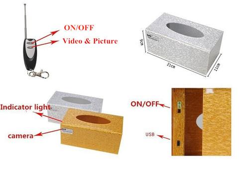 100 - Tissue Box Camera
