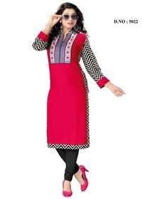 Trendy Look Cotton Kurti