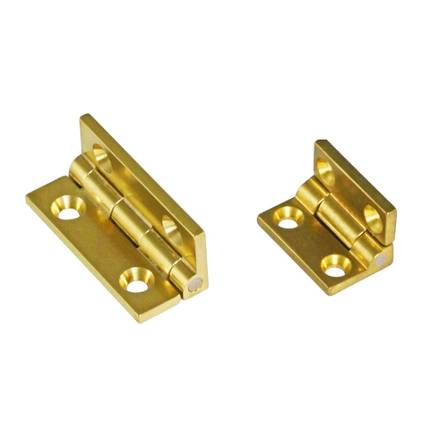 Brass Box Hinges