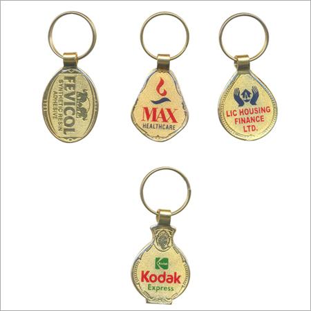 Gold lamination key chain