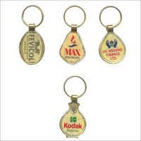 Gold lamination key chain