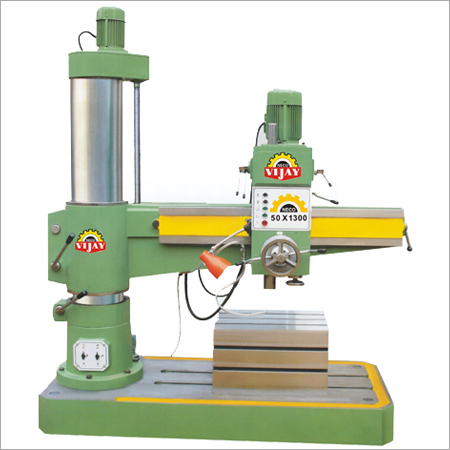 50MM_Geared Radial Drill Machine