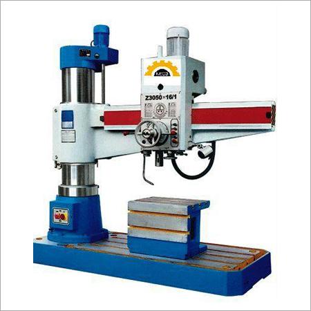 Geared Radial Drill with Hydraulic Locking