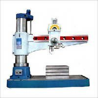 Fully Hydraulic Locking and Gear Changing Radial Drill Machine