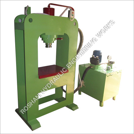 Double Hydraulic Tile Press