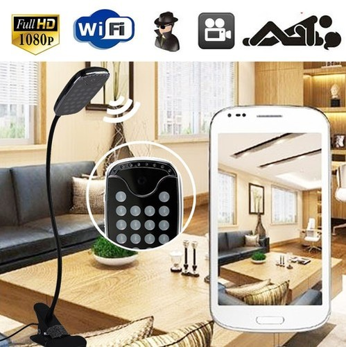 331 - MINI WIFI LED LAMP CAMERA