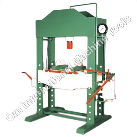 Hand Operated Hydraulic Press Machine