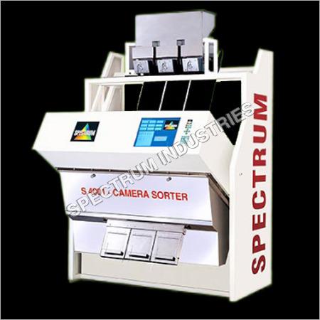 Trichromatic RGB CCD Camera Sorter
