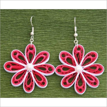 Floral Quillwork Hangings