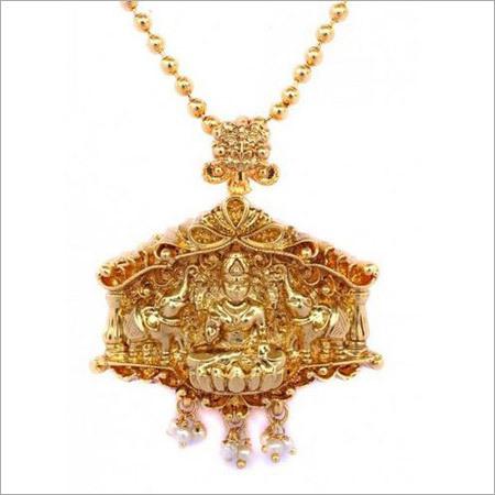 Lakshmi Pendant Ball Chain