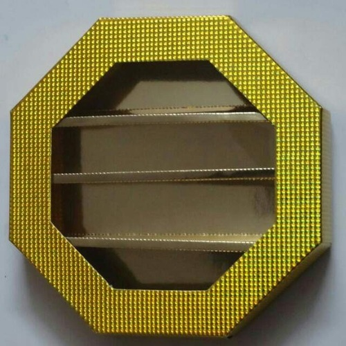 Gold Holographic Film Box