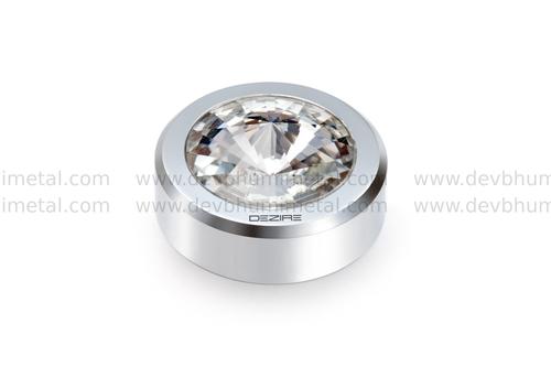 Fancy Crystal Mirror Cap