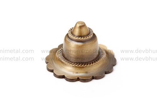 Brass Flower Dome