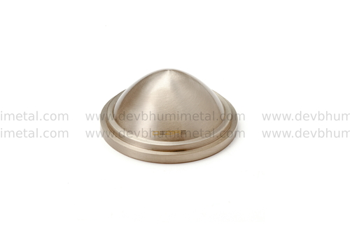 Brass Mirror Dome Cap