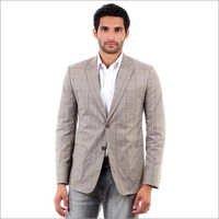 Grey Chequered Summer Jacket