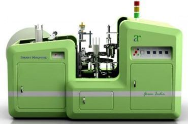 ECONOMIC TYPE PAPER PLATE MAKING MACHINE AZ 770  URGENT SALE