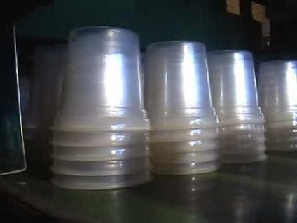 ECOFRIENDELY PLASTIC EPS FOAM GLASS DONA PLATE MACHINE URGENT SALE