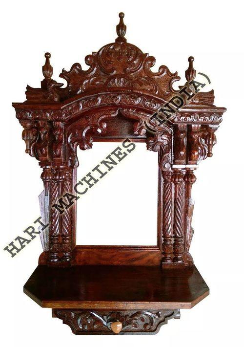 Wooden Handicrafts Temple