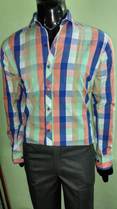 Multi Color Check Shirt