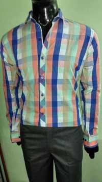 Multi Color Check Shirt