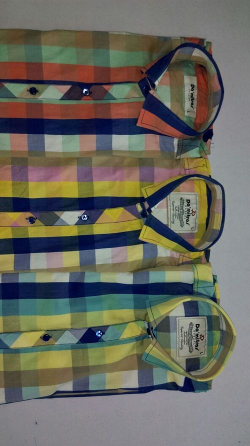 Multicolor Check Shirt
