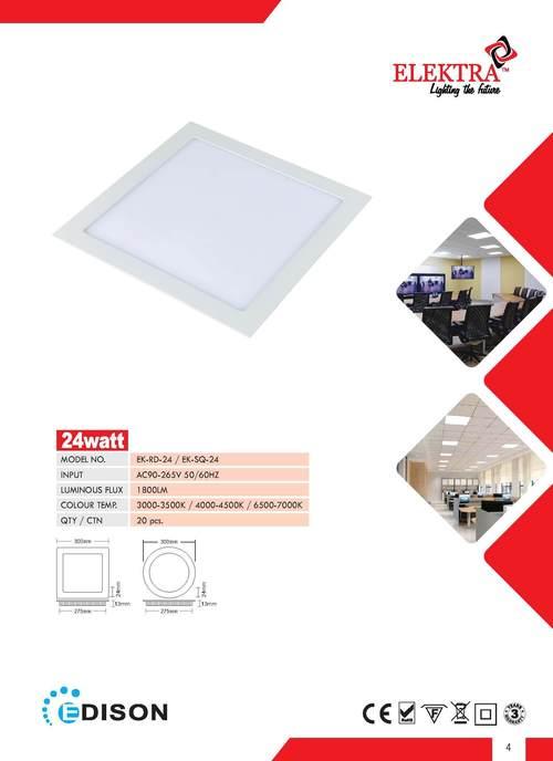 24W LED Panel Downlight