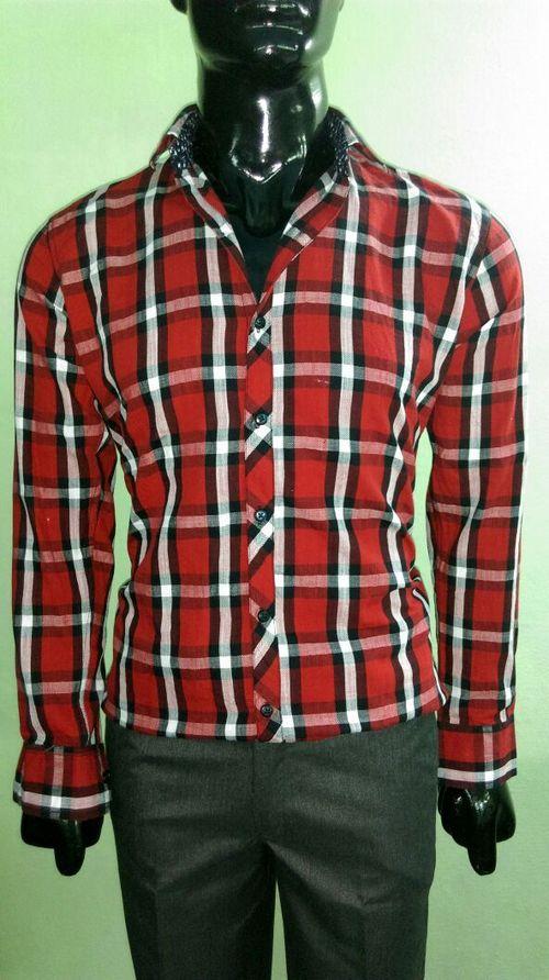 Twill Checkered Shirt