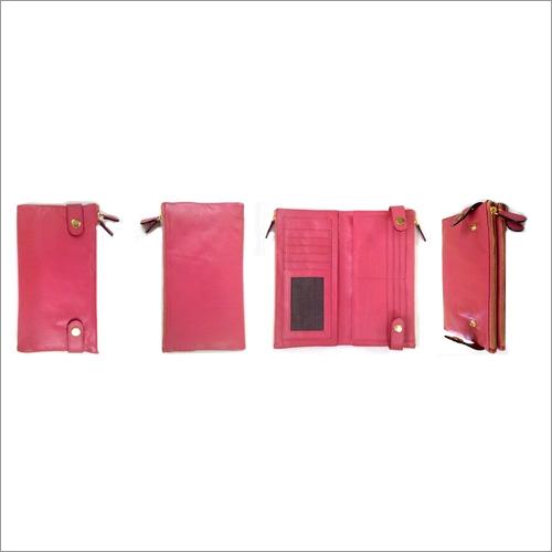 Elegant soft leather wallet