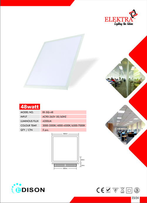 LED Big Panel Light-48W