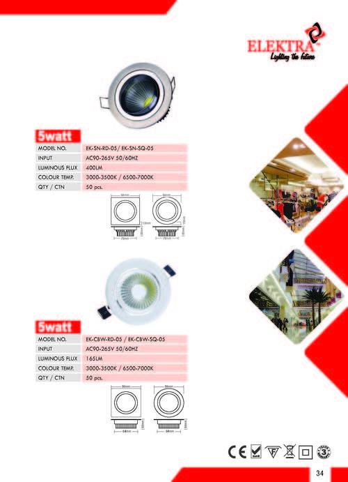 LED Ceiling Light-5W