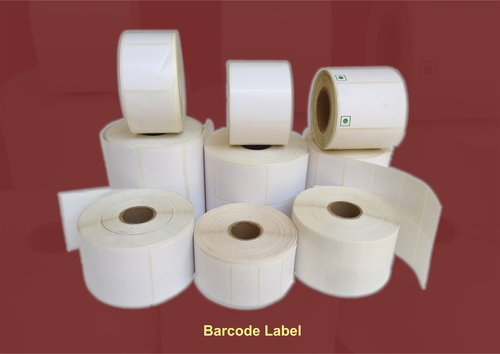 Barcode Plain Stickers