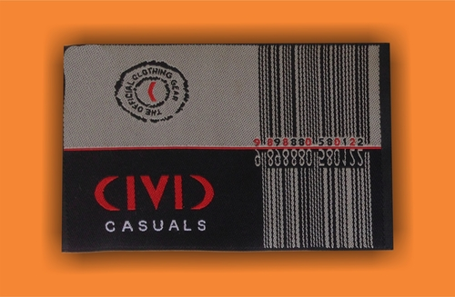 Printed Garments Labels