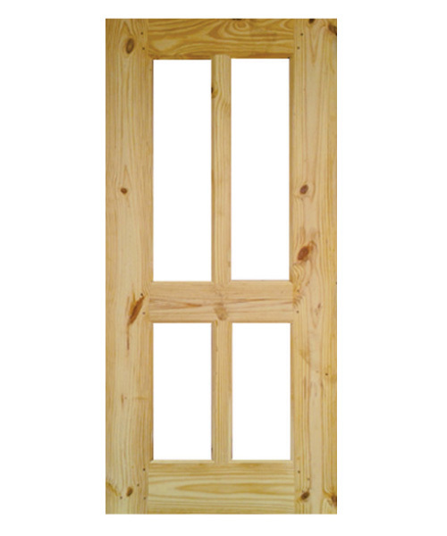 Wooden Framed Glass Door