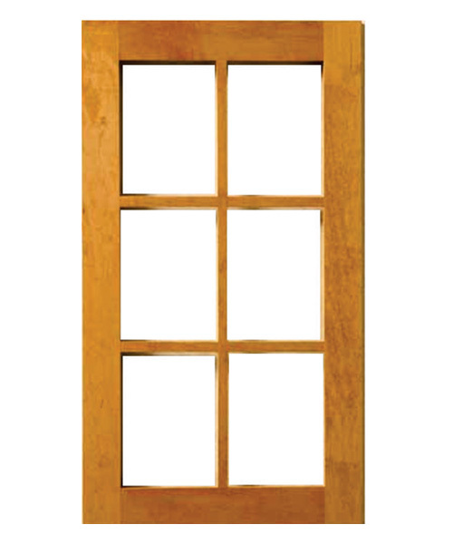 Wooden Glass Window
