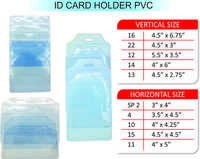 ID CARD HOLDER PVC