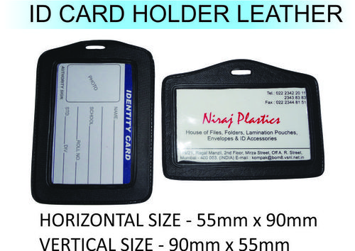 ID Card Holder Leather