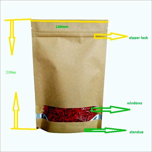 Kraft Pouch Bag