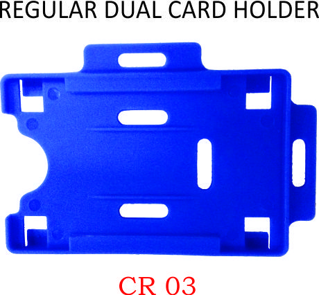 REGILAR DUAL CARD HOLDER