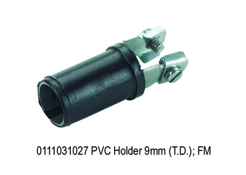 PVC Holder 9mm (T.D.); FM