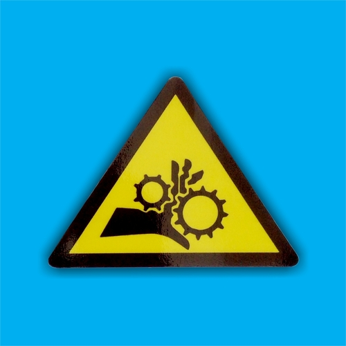 Industrial Plant Safety Stickers