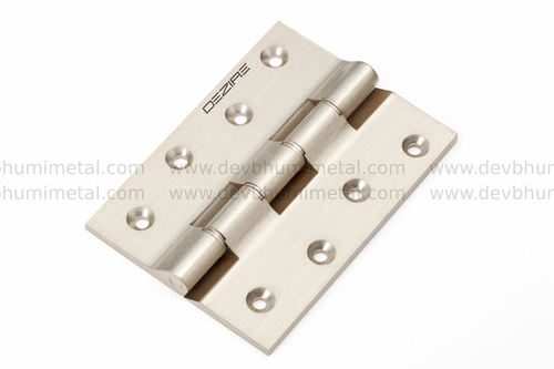 5/32 (3.6mm) Brass Railway Washer Hinges