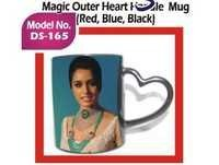 Magic Outer Heart Handle Mug