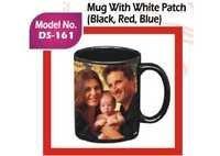 Mug with White Patch