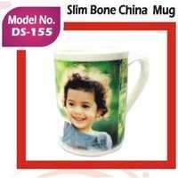 Slim Bone China Mug