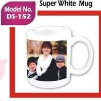 Super White Mug