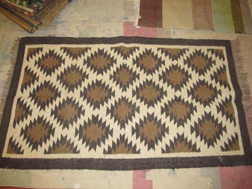 Wool Rugs,Cotton Wool Kilim Rug,Indian Wool,Handmade Multi Color Rug,