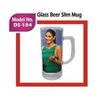 Glass Beer Slim Mug