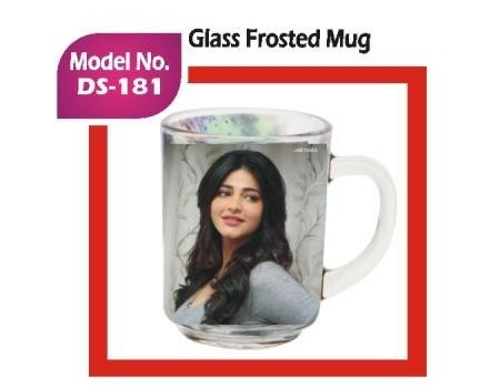 Glass Frosted Mug