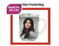 Glass Frosted Mug