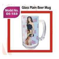 Glass Pain Beer Mug